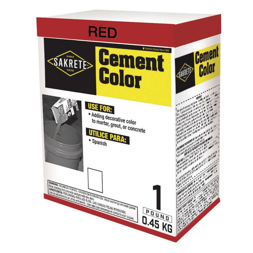 5 lbs 10 ounces Sky Blue Cement Pigment ~ each bag Does 94 lb bag of Cement