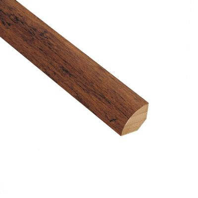 Strand Woven Spice 3/4 in. Thick x 3/4 in. Wide x 94 in. Length Bamboo Quarter Round Molding