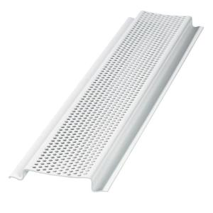 Gibraltar Building Products 8 Ft Perforated Pvc