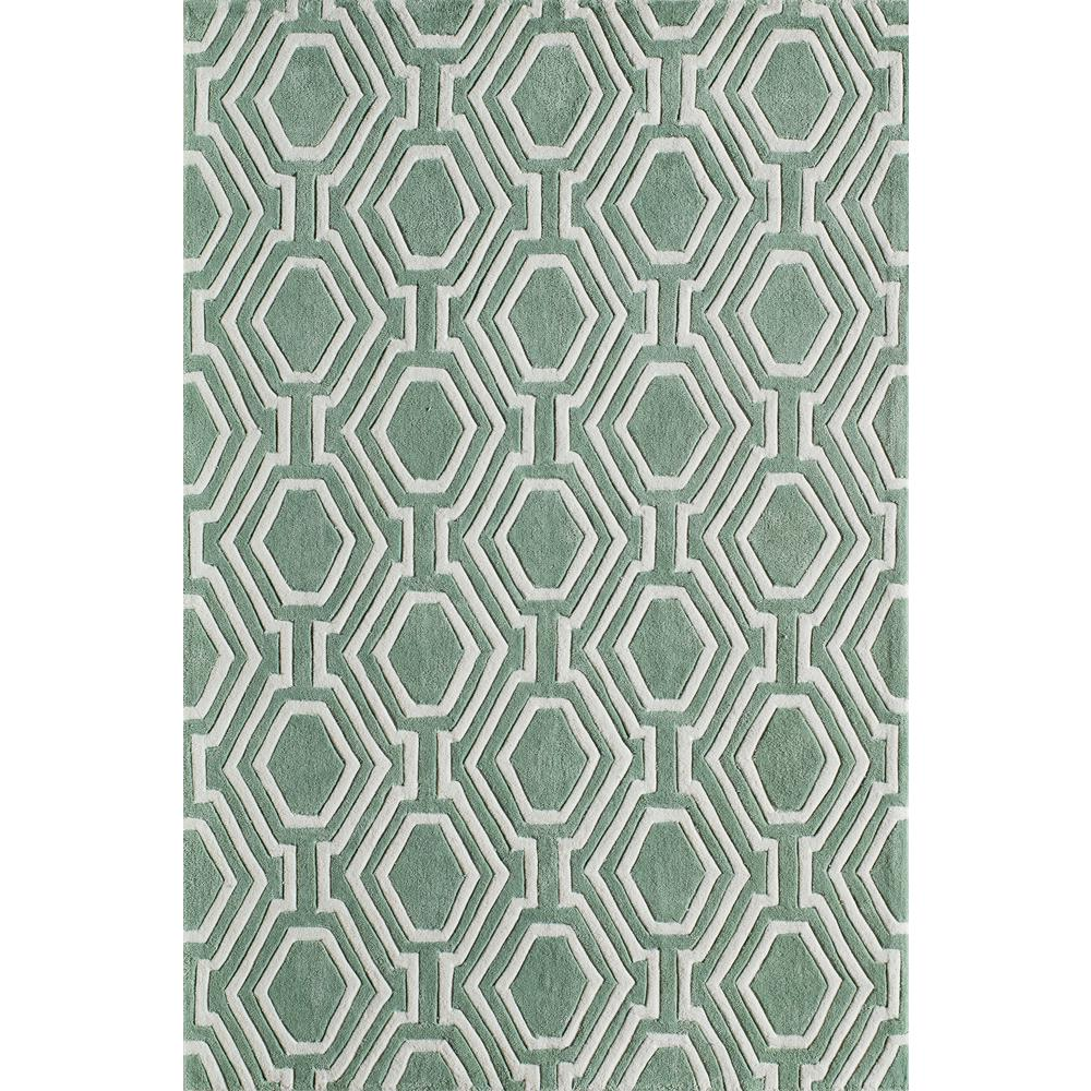 Bliss Sage 8 ft. x 10 ft. Indoor Area Rug