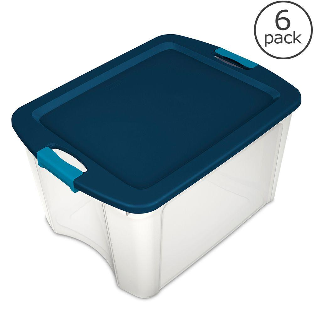 Heavy Duty Storage Containers Lockable on locking plastic storage bo
