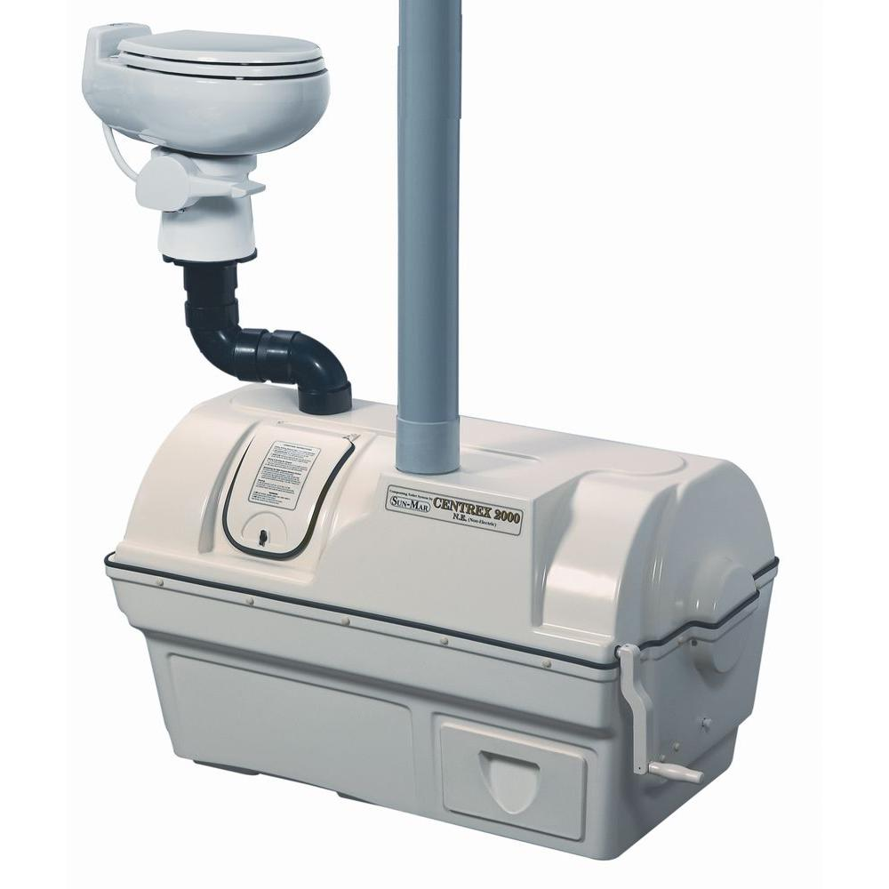 Centrex 2000 Non-Electric Waterless High Capacity Central Composting Toilet
