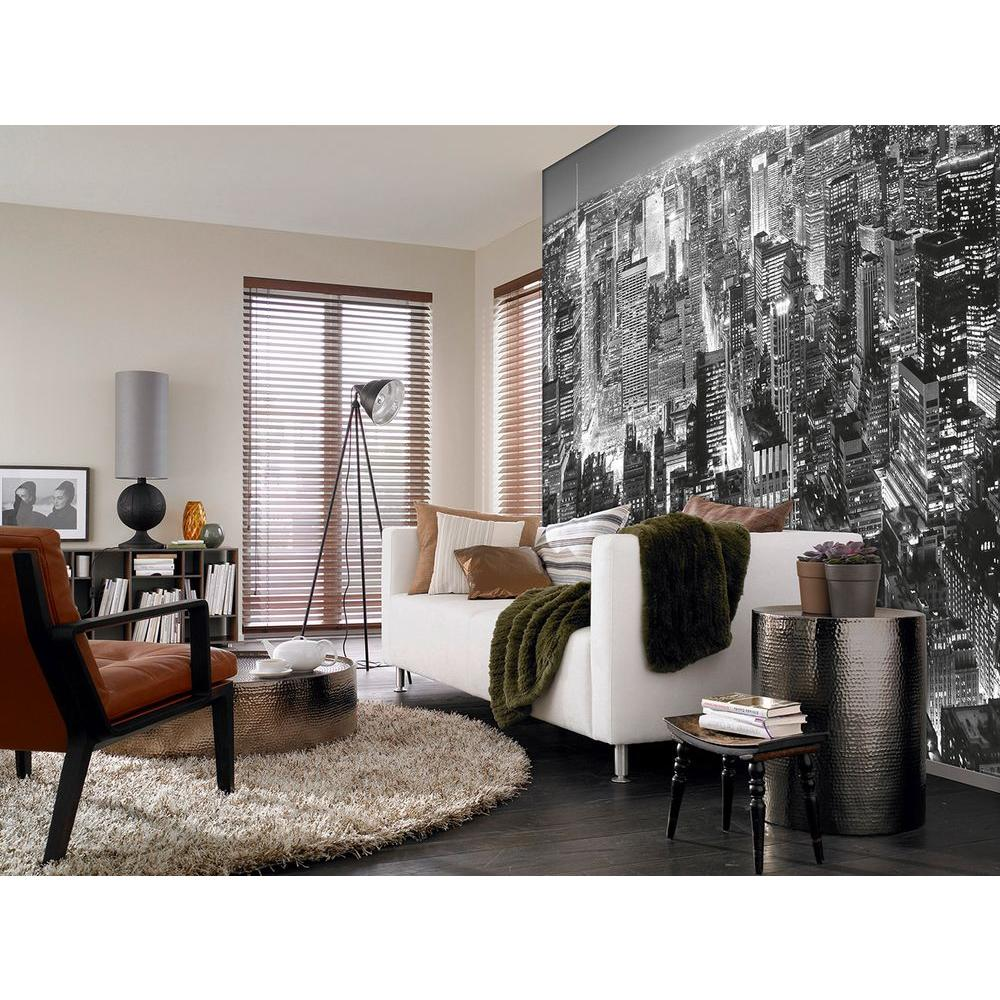 Ideal Decor 144 In. H X 100 In. W Midtown New York Wall Mural-DM141