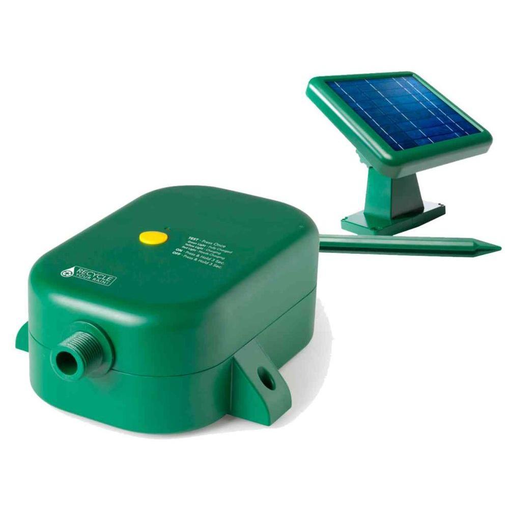 Good Ideas Rain Barrel Solar Pump