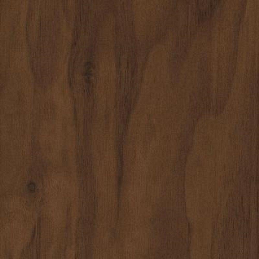 null Take Home Sample - Matte American Walnut Click Lock Hardwood Flooring - 5 in. x 7 in.