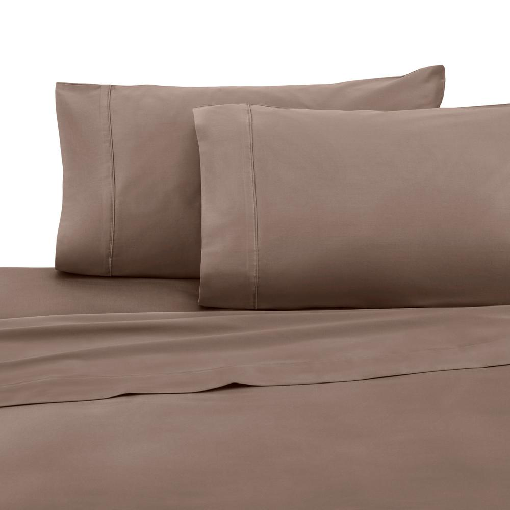 T400 Caribou Cotton Twin Sheet Set