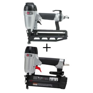 Porter-Cable Pneumatic 16-Gauge 2-1/2 inch Nailer Kit with Bonus 18-Gauge Brad Nailer Kit by Porter-Cable