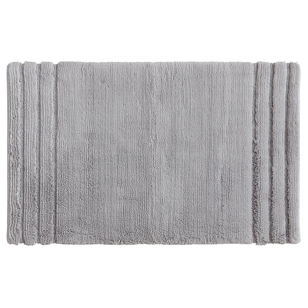 Mohawk Empress 20 In X 34 In Cotton Bath Mat In Gray
