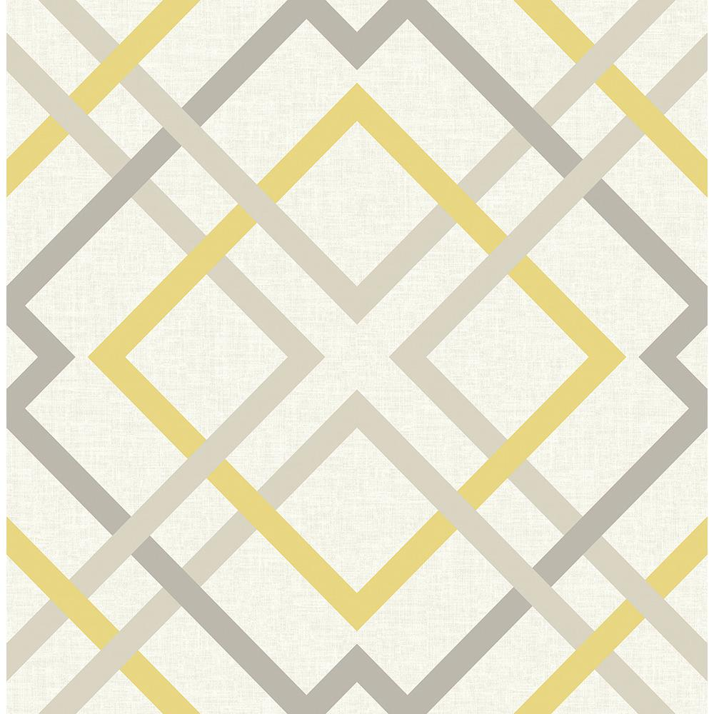 A Street Saltire Yellow Lattice Wallpaper Sample 2697 22652sam The