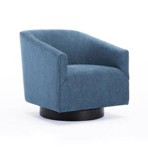 Prime Quality Components Plus Geneva Cadet Blue Wood Base Swivel Onthecornerstone Fun Painted Chair Ideas Images Onthecornerstoneorg