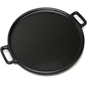Home-Complete 14 in. Cast Iron Pizza Pan Deals