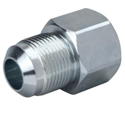 5/8 in. O.D. Flare (15/16-16 Thread) x 3/4 in. FIP Steel Gas Fitting