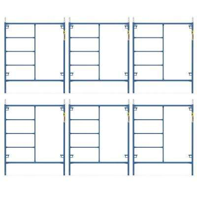 Saferstack 6 ft. x 5 ft. Mason Scaffold Frame (6-Pack)