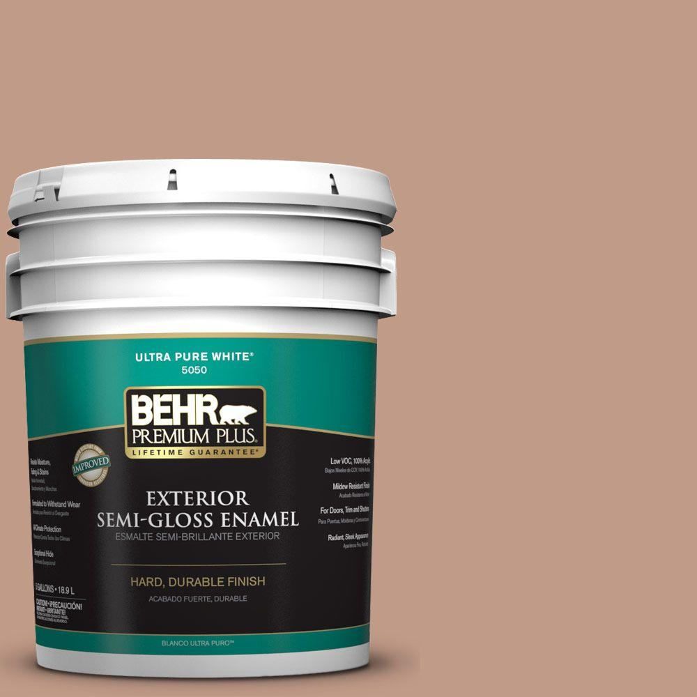 5-gal. #S200-4 Chestnut Bisque Semi-Gloss Enamel Exterior Paint