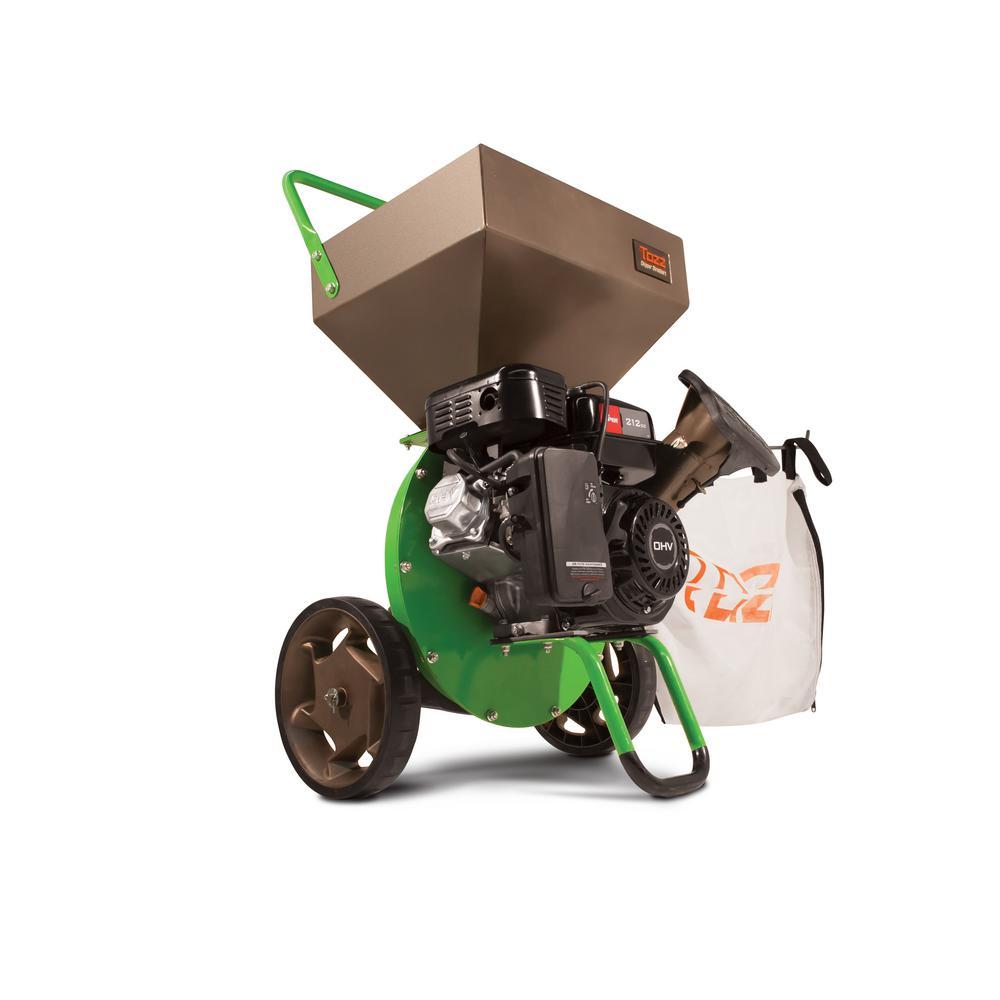 5 Chipper Shredders Outdoor Equipment The Home Depot