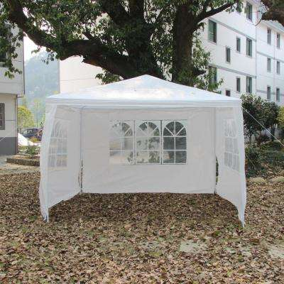 3 x 3m Three Sides Waterproof Foldable Tent White