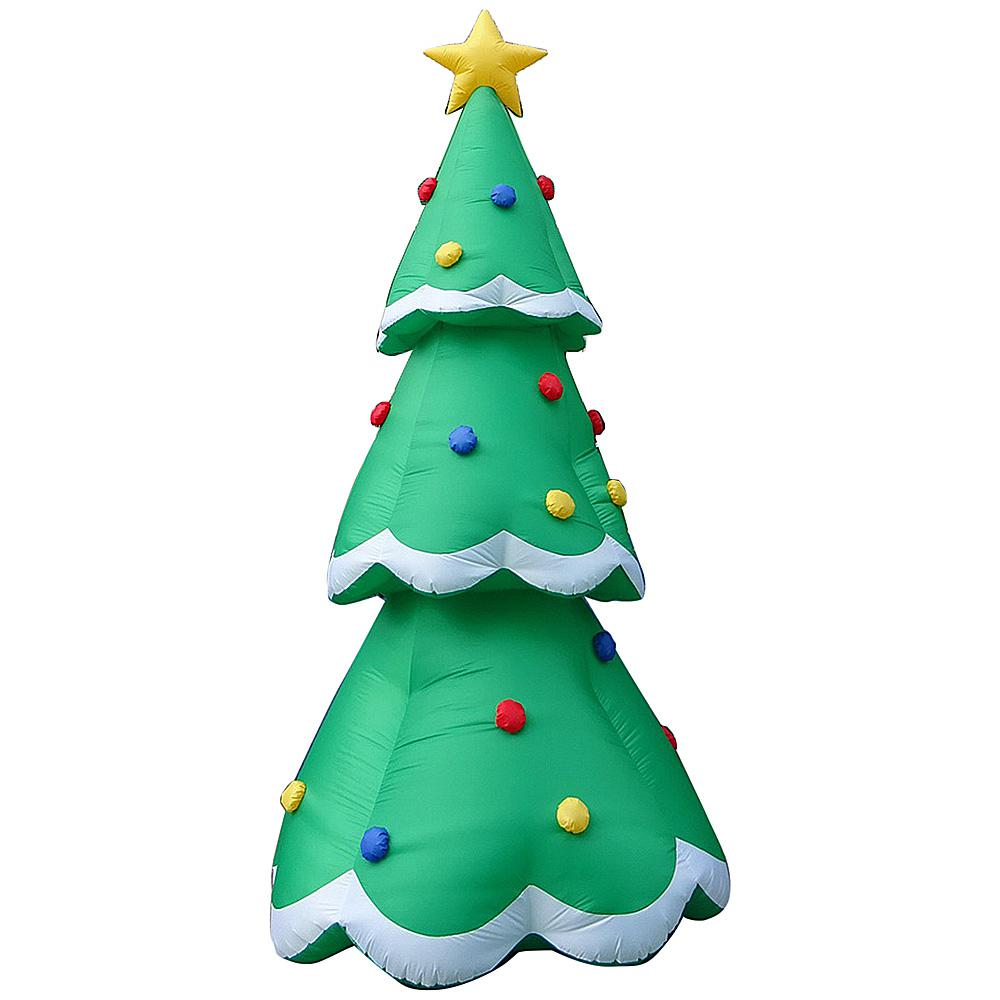 Inflatable Christmas Tree.Airblown 14 Ft Pre Lit Inflatable Christmas Tree