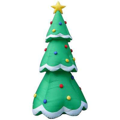 14 ft. Pre-lit Inflatable Christmas Tree