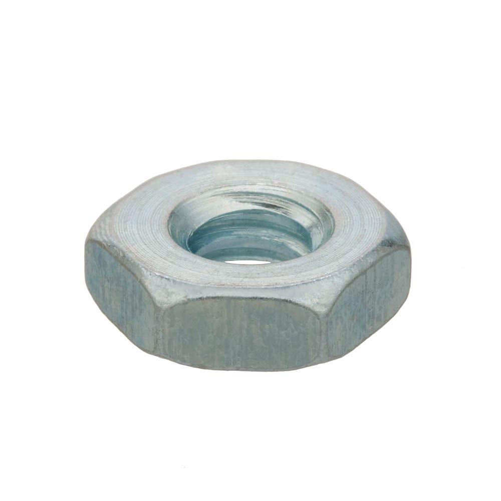 #10-24 Zinc-Plated Machine Screw Nut (100-Piece)