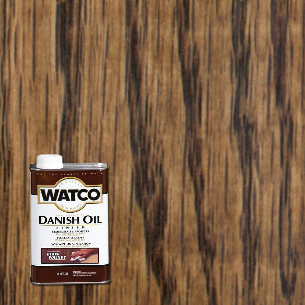 Watco 1 pt. Black Walnut Danish Oil (6-Pack)-65351 - The ...