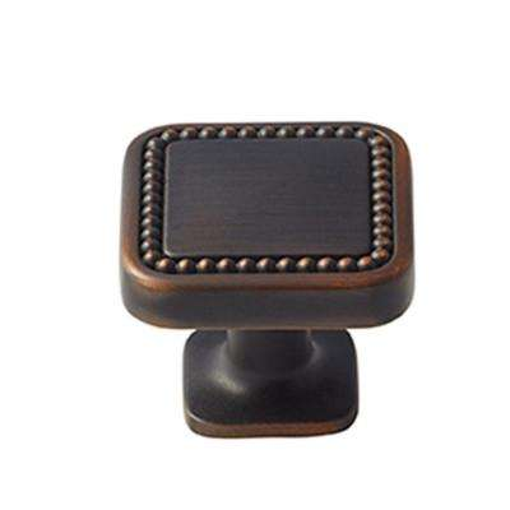 Carolyne 1-1/4 in. (32 mm) Oil-Rubbed Bronze Cabinet Knob