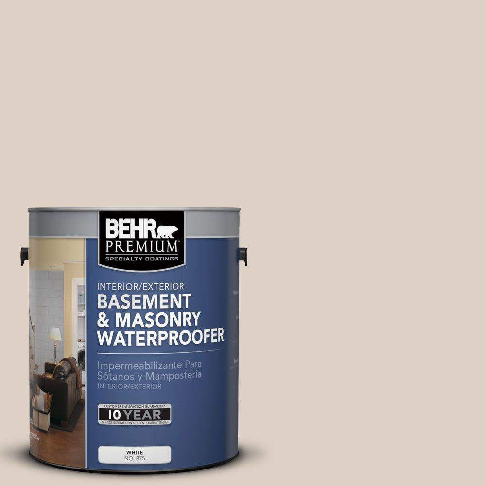 BEHR Premium 1 gal. #BW-33 Natural Beige Basement and Masonry Waterproofer