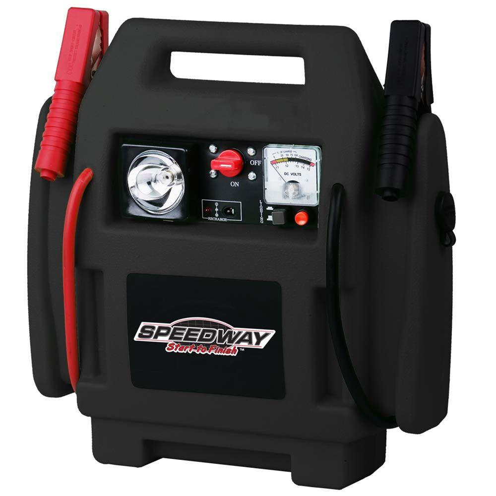 North American Tools Emergency Car Jump Starter and Compr...