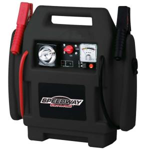 jump start battery speedway emergency car jump starter and compressor with 11108