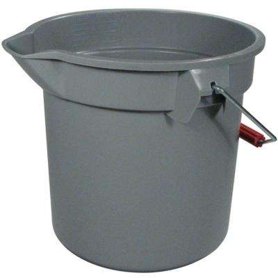 Brute 14 Qt. Grey Round Bucket