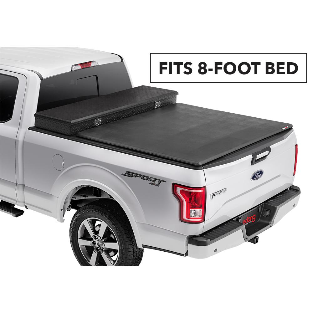 Extang Trifecta Toolbox 2 0 Tonneau Cover 07 13 Silverado Sierra 1500 07 14 2500hd 3500hd 8 Bed W Out Cargo Management 93655 The Home Depot