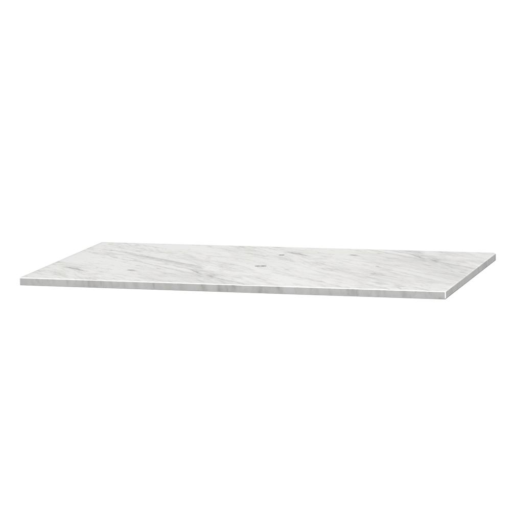Centra 36 in. W x 21.5 in. D Marble Vanity Top