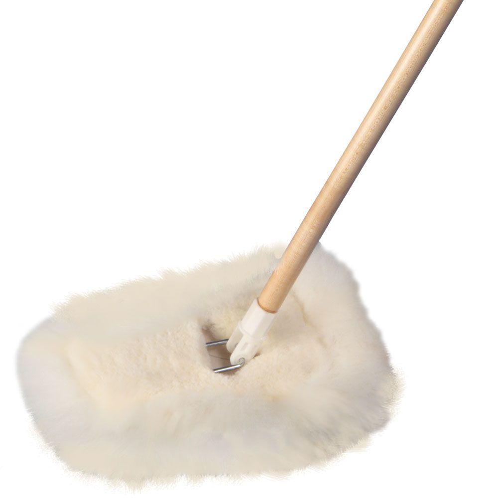 48 in. Lamb's Wool Wedge Dust Mop