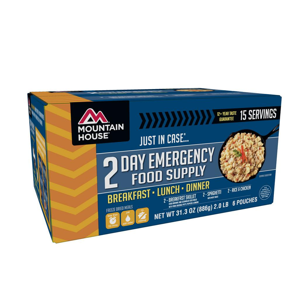 Mountain House Just In Case 2-Day Emergency Food Supply Kit
