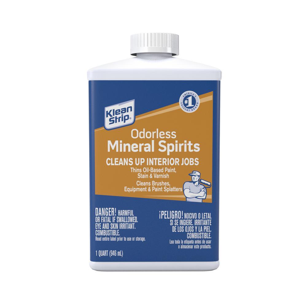 1 qt. Odorless Mineral Spirits