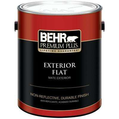 1 gal. Ultra Pure White Flat Exterior Paint and Primer in One