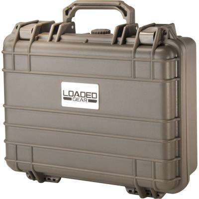 Loaded Gear 13 in. HD-200 Hard Tool Case in Beige