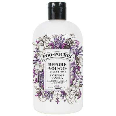 Before You Go 16 oz. Lavender Vanilla Toilet Spray Air Freshener