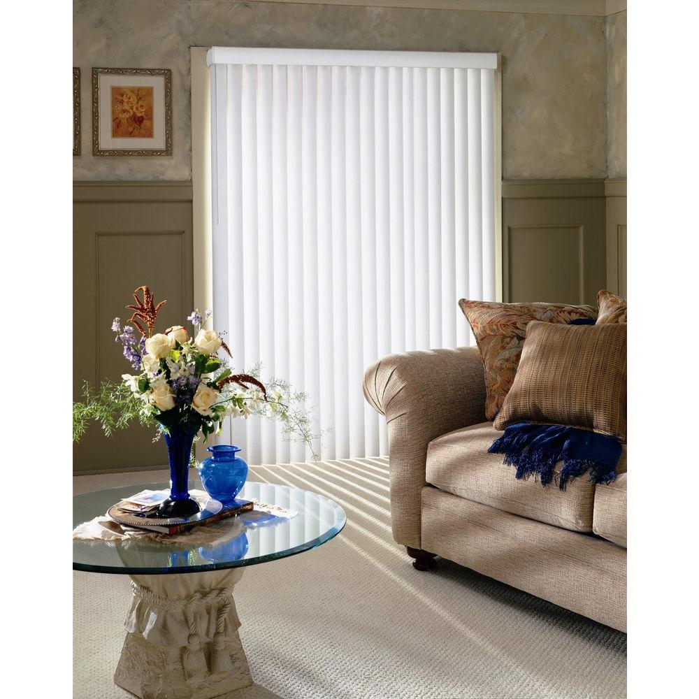 Bali Cut-to-Size Ivory Crown 3.5 in. PVC Louver Set - 84 in. H (9-Pack)