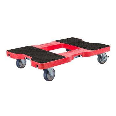 1200 lbs. Capacity Professional E-Track Dolly in Red