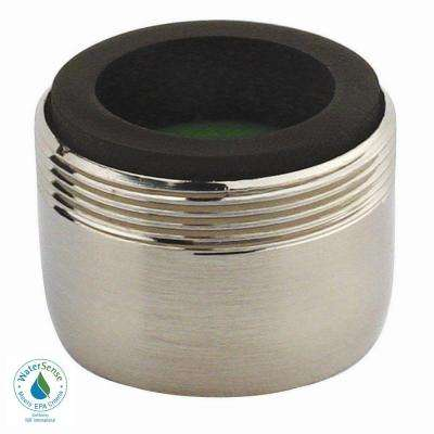 1.5 GPM Dual-Thread Water-Saving Faucet Aerator in Brushed Nickel