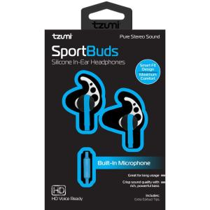Tzumi Sound Mates Wireless Stereo Earbuds Bluetooth 5 0-6759HD - The