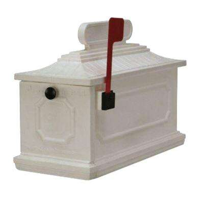 1812 Architectural Mailbox in White