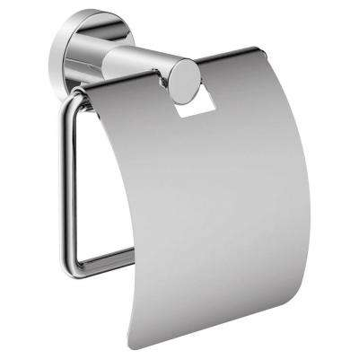 Dia Tank Mounted Toilet Paper Holder in Chrome