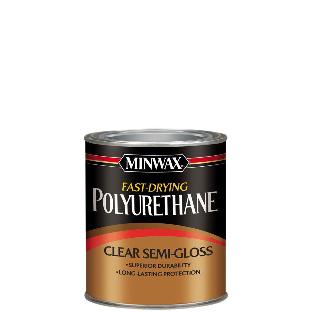 Minwax 1 qt. Semi-Gloss Fast-Drying Polyurethane