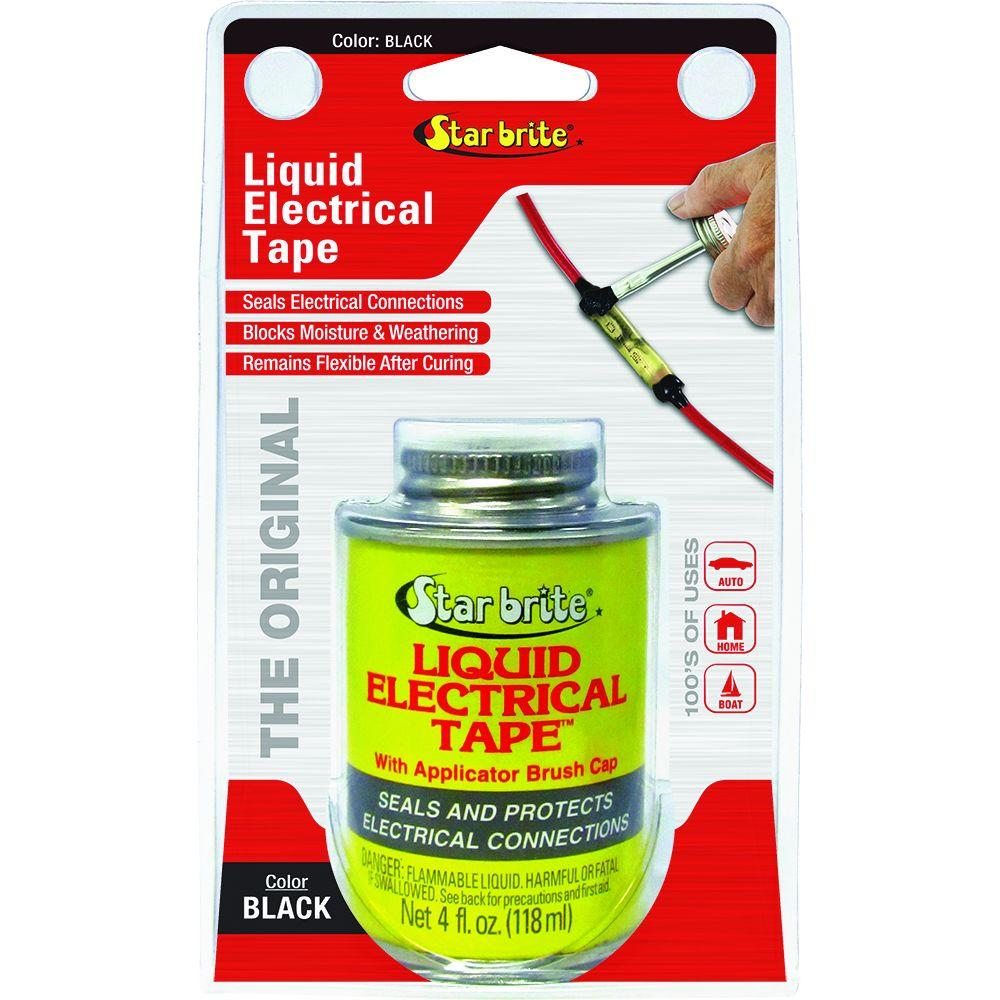 Star Brite 4 oz. Liquid Electrical Tape - Black