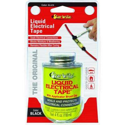 4 oz. Liquid Electrical Tape - Black