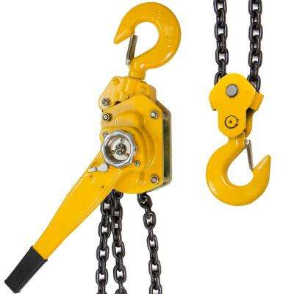 6-Ton Steel Block Chain Lever Hoist Puller Lifter 10 ft.