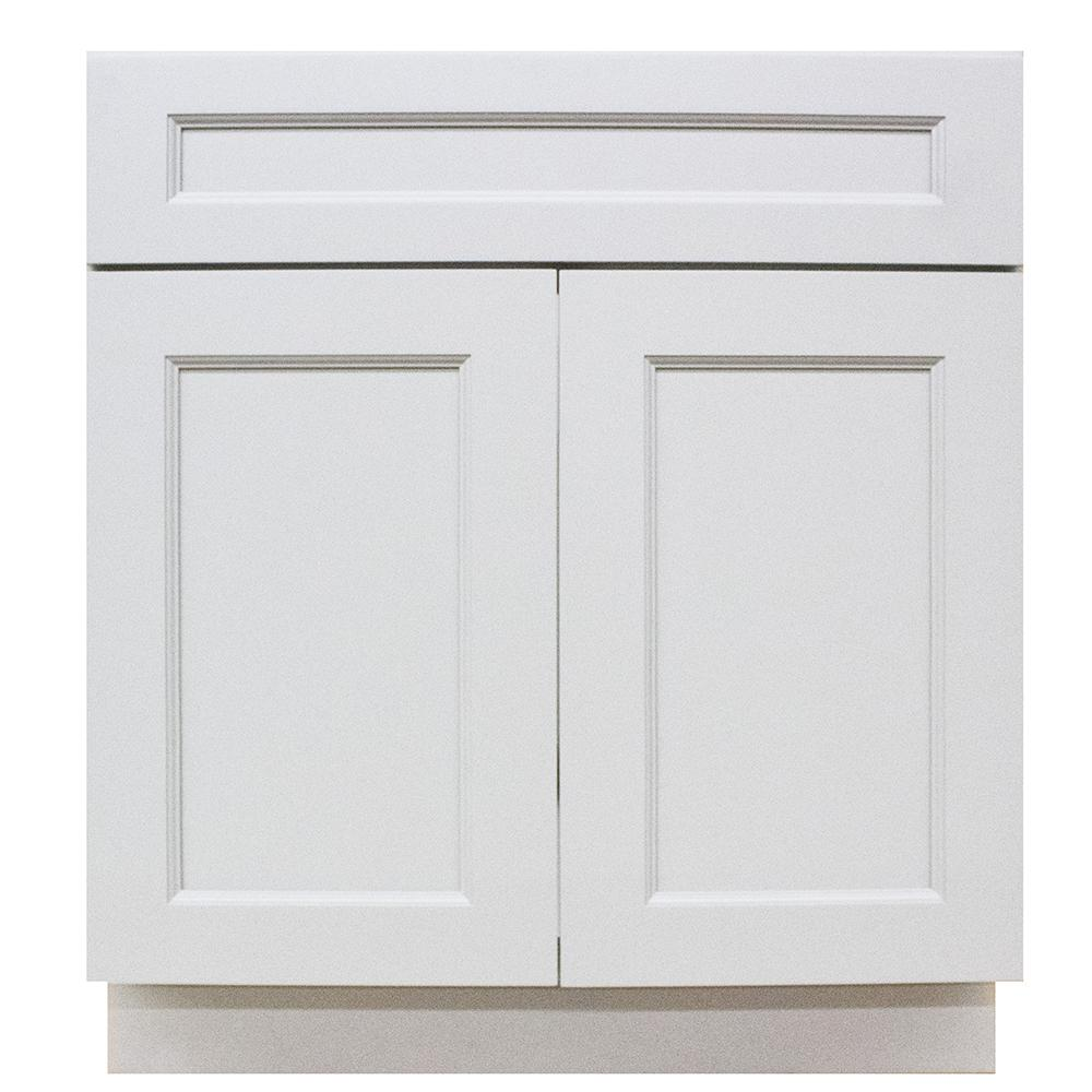 Modern Craftsmen - Ready to Assemble 24x34.5x24 in. 2-Door and 1-Drawer