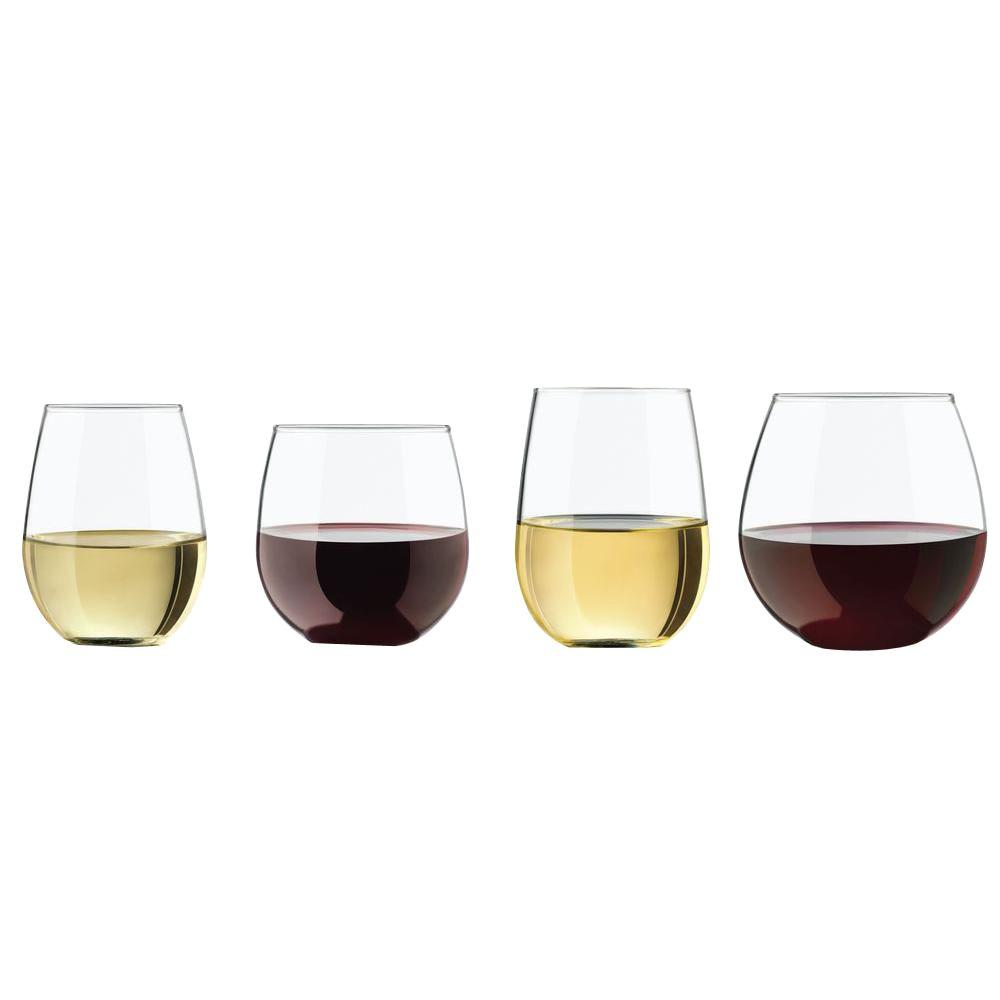 Libbey Vineyard Reserve Stemless Glass (Set of 8)