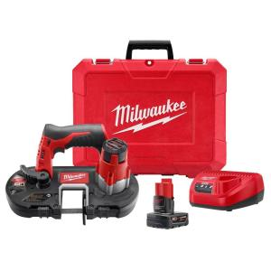 Milwaukee M12 12-Volt Lithium-Ion Sub-Compact Band Saw XC Kit Deals